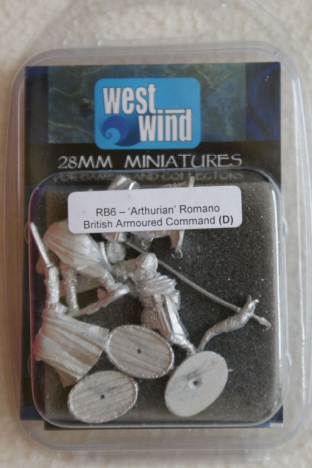Westwind 28mm RB-06 Romano British Armoured Command